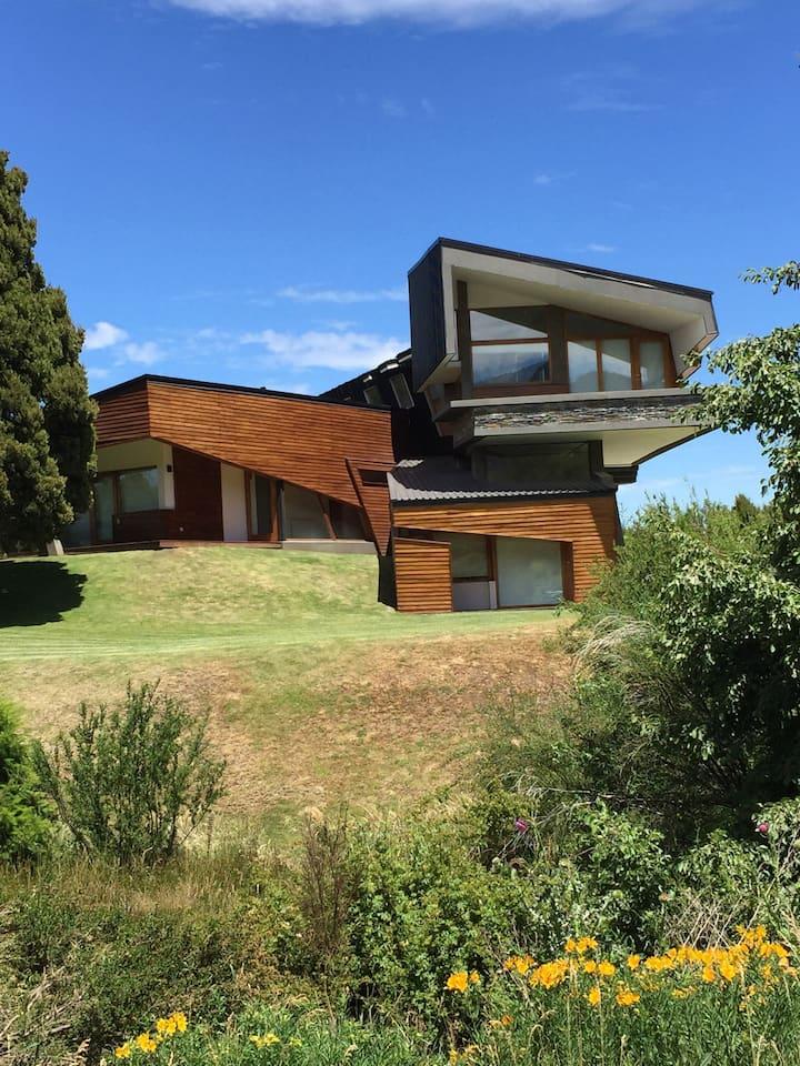 Maison d'architecture exceptionnelle en Patagonie