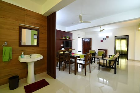 Tranquil 2 bedroom luxurious apartment @Trivandrum