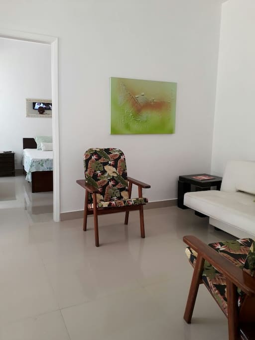 Sala, vista quarto