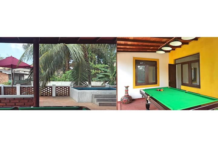BOUTIQUE VILLA with Entertainment, Pool and more!!