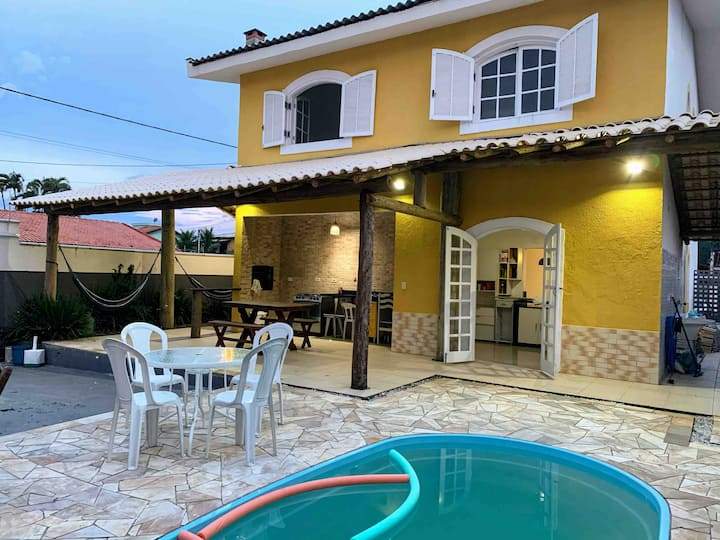 Casa de Praia c/ Wi-Fi, Netflix, Sky, Piscina...