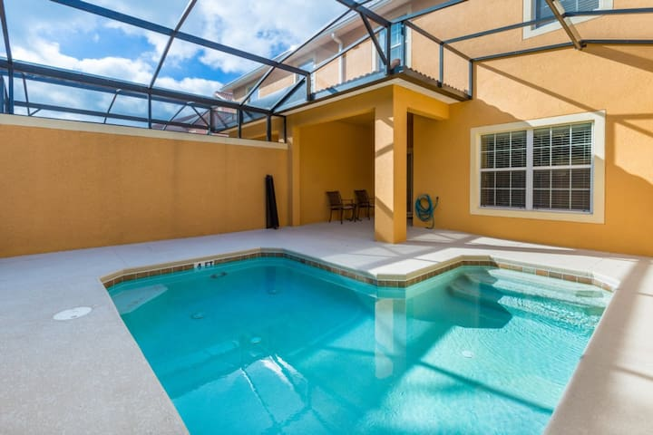 4 Bedroom/3 Bathrooms Paradise Palms (2977BP)