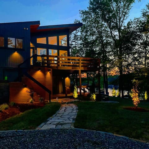 """The Modern Treehouse"" On Hyco Lake"