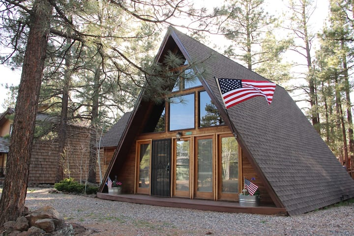 Coziest A-Frame In The Woods