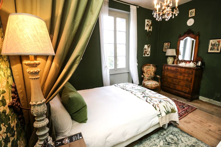 Carcassonne Bed and Breakfast - Green room