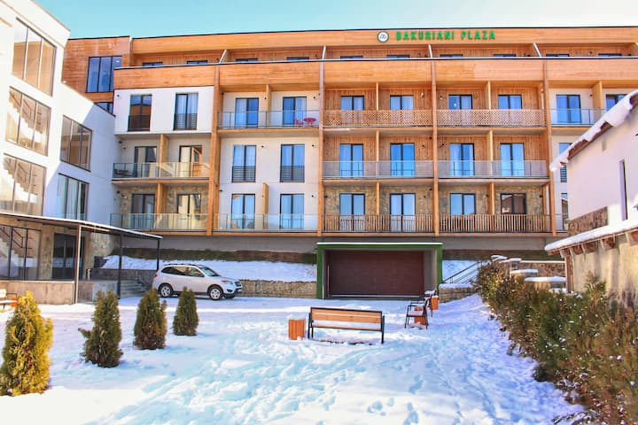 Stunning Apartment  A 107  ( Bakuriani Plaza )