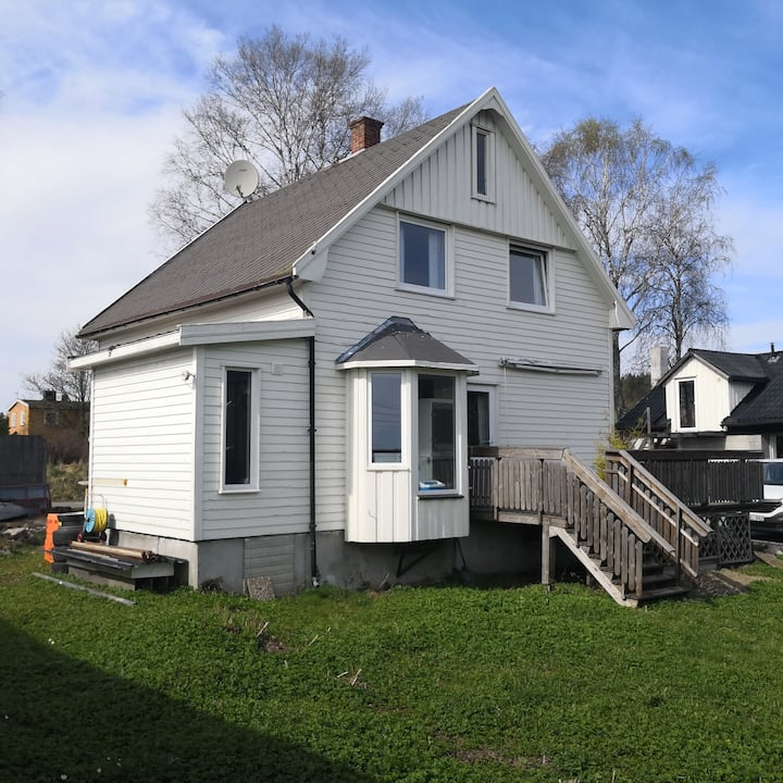 6bdr house, 30min to Oslo, group/worker, 8 beds