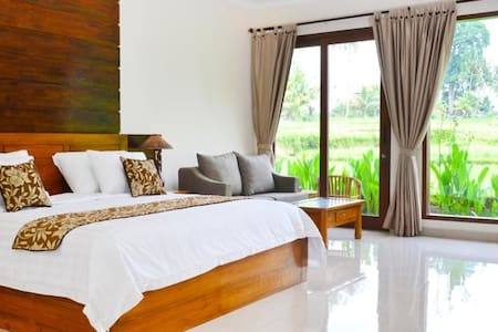 4BDR ricefield private pool villa Ubud - Ubud - Apartment