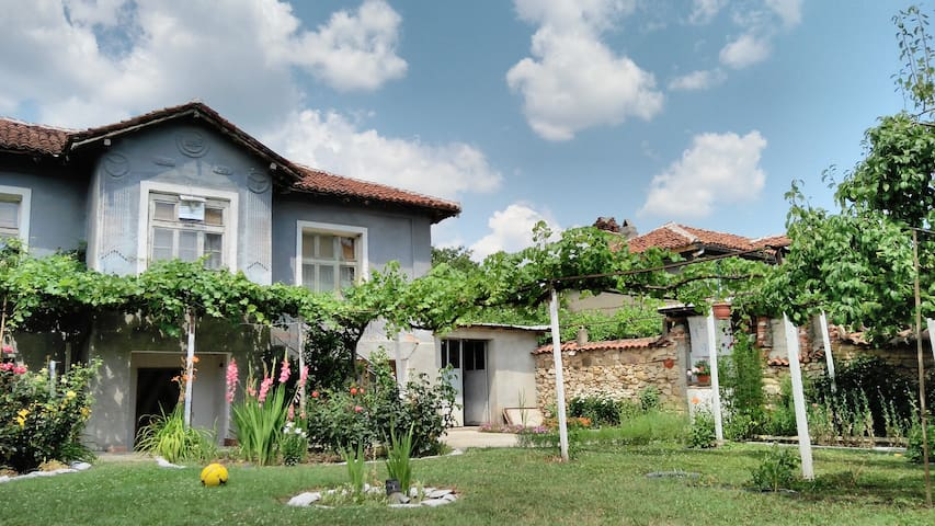 Nice house with backyard - Lesichovo