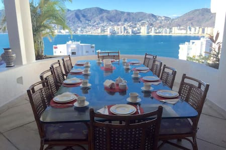 Spectacular home, service included! - Acapulco