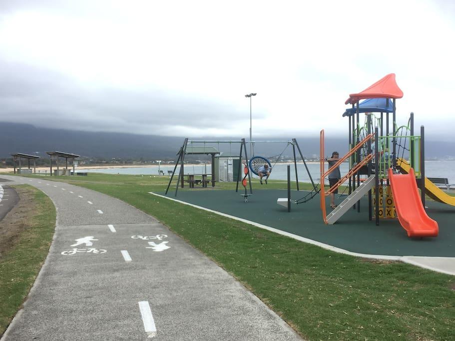 Bellambi children's playground  and BBQ areas