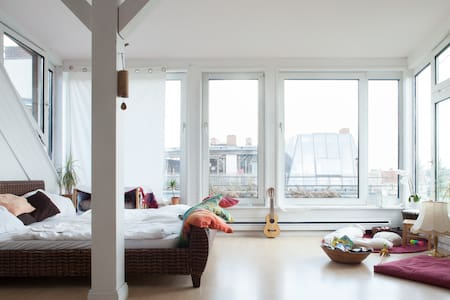 Bali Meditation Loft - On the roofs of Berlin - Berlin - Loft