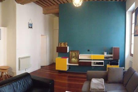 Chambre privative dans appartement plein centre - Lyon