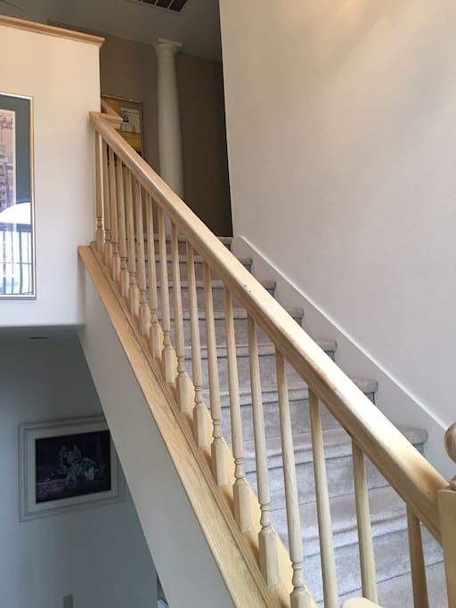 Same stairs to the room