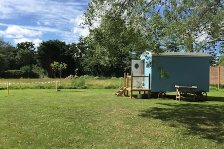 Shepherd Hut 'Jemima' - private facilities - Toft Monks - Chatka