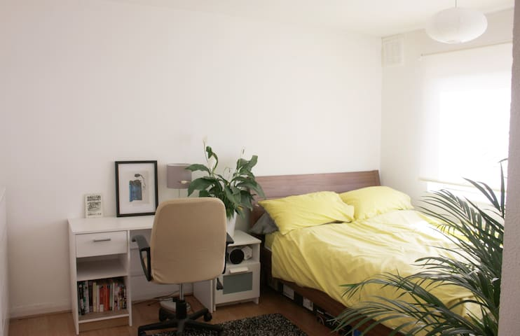 Japanese quiet, friendly and creative flat(room D)