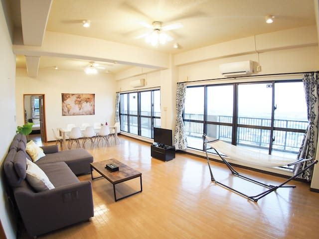 Great view apartment 3 bedrooms 140 ㎡ 12ppl  UR1