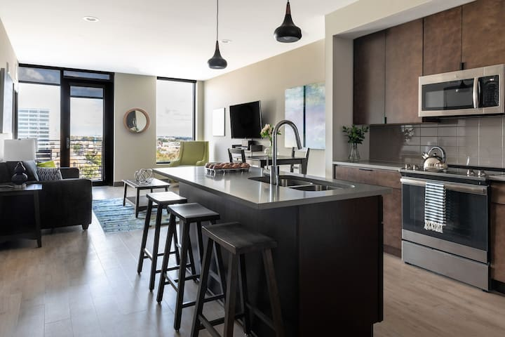 Lovely One-Bedroom at 80 on the Commons