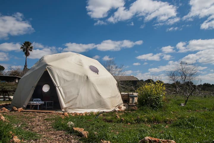 Ecologic Dome Home In The Nature - Bar Giora - Inny