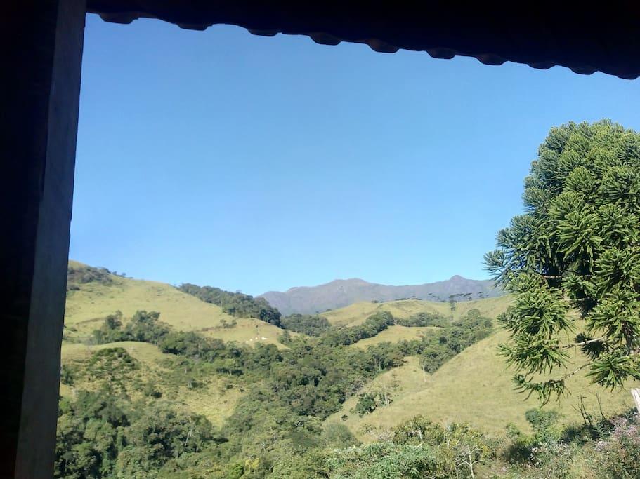 Vista da Varanda - Pico das Agulhas Negras.