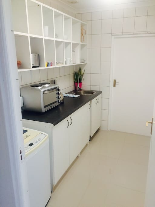 A fully equipped kitchen ready to cater for your every need