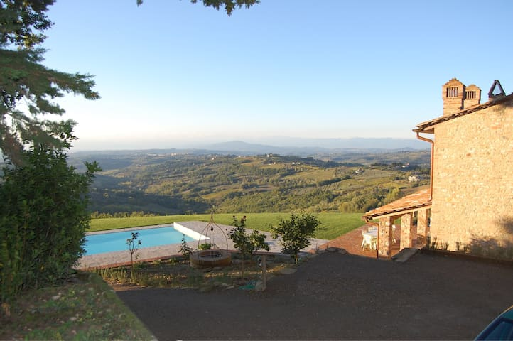 The view of the holiday house