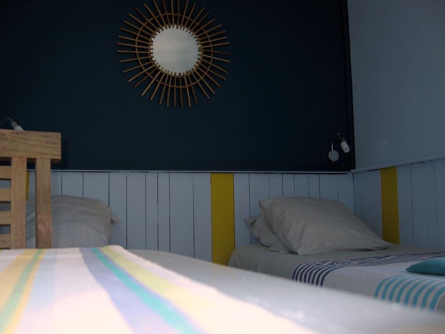 Chambre le d 39 yeu chambres d 39 h tes louer les sables for Chambre d hote l ile bouchard