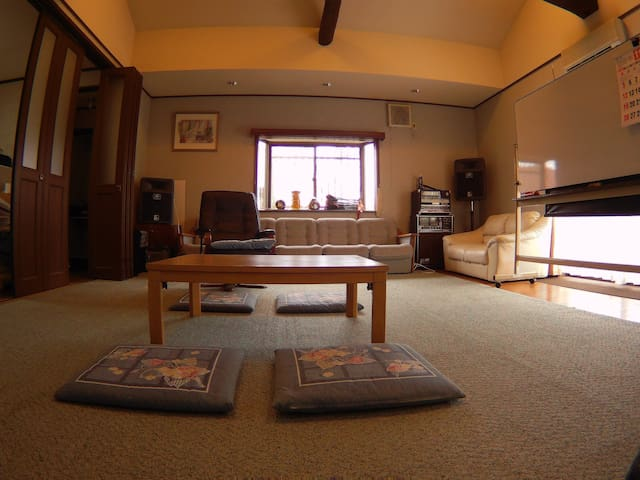 Relax country huge room in Ikoma, Nara