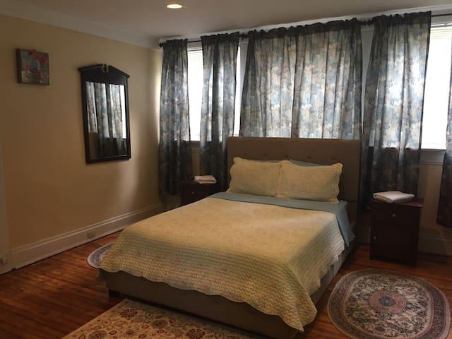 SUPERB Bright Master Bedroom