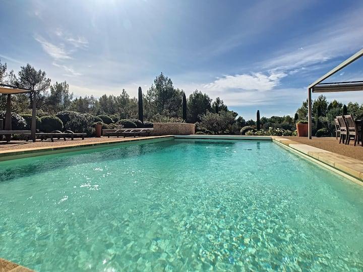 Maison Joss piscine chauffée