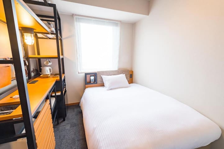 2 minutes walk from Asakusabashi station! Non smoking double room