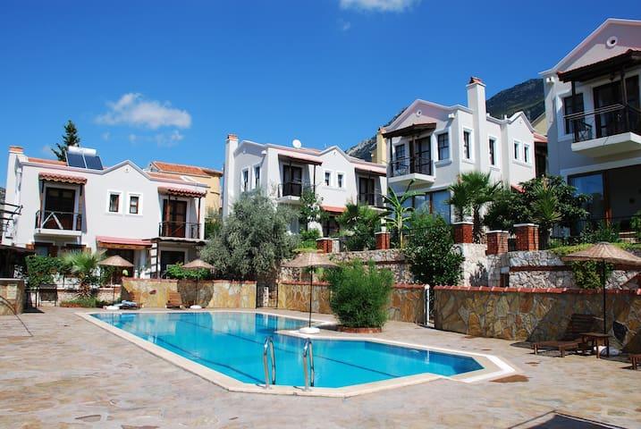 The Falcon Villas share a fabulous pool