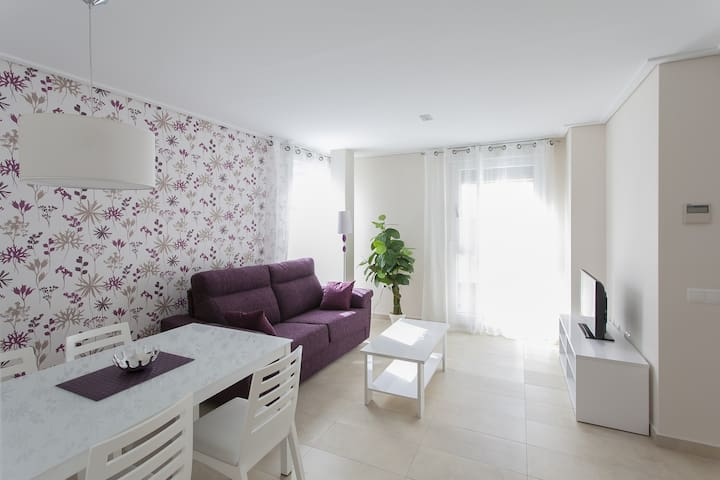 Beautiful property with 2 bedrooms. Wifi