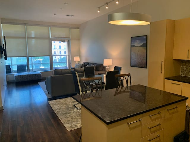 NEW! Luxurious Condo With A Gorgeous Balcony View.