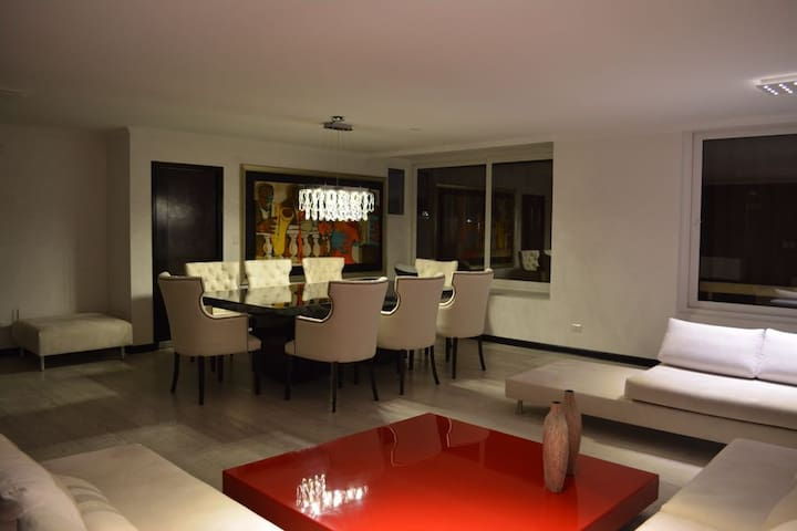 "Excellent location in ""El Golf"", Las Condes."