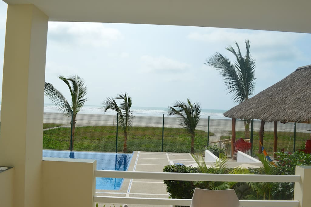 This is the view of our first floor condo at Playa del sol in balcony center building.This condo is bigger than our other unit.We have 4 condos for rent long term/short term/for sale.