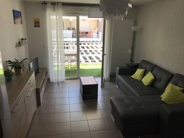 Appartement T2  récent sur la Côte Landaise