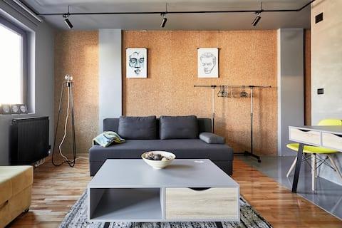 MusicBox Apartment – Cool & unique central studio