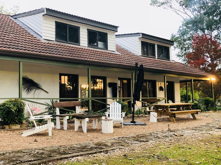 Wollombi Brook Farm Stay-The Farm House $100 pp/nt
