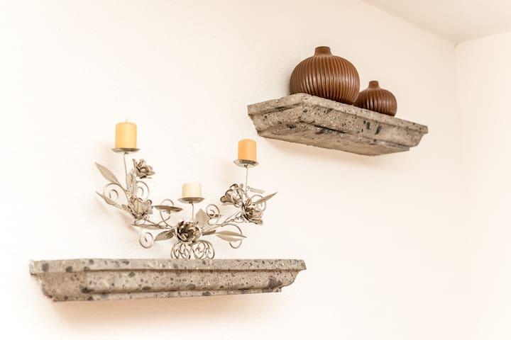 Hermosos detalles decorativos