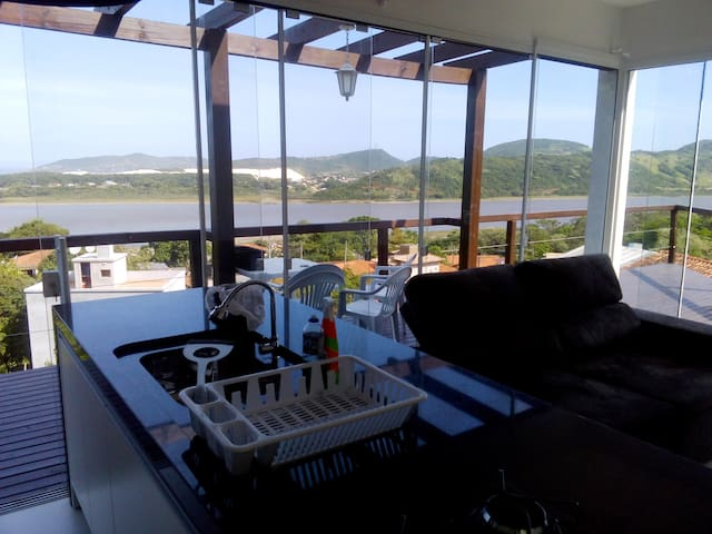 New house with great view - Garopaba - Ev