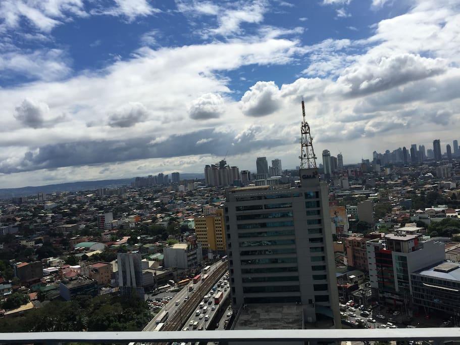Master room balcony view