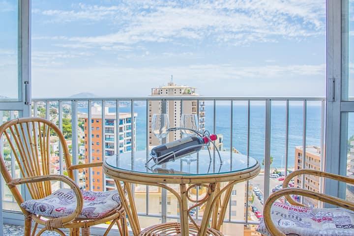 Calpe La Fossa fantastic view 2 min beach WiFi