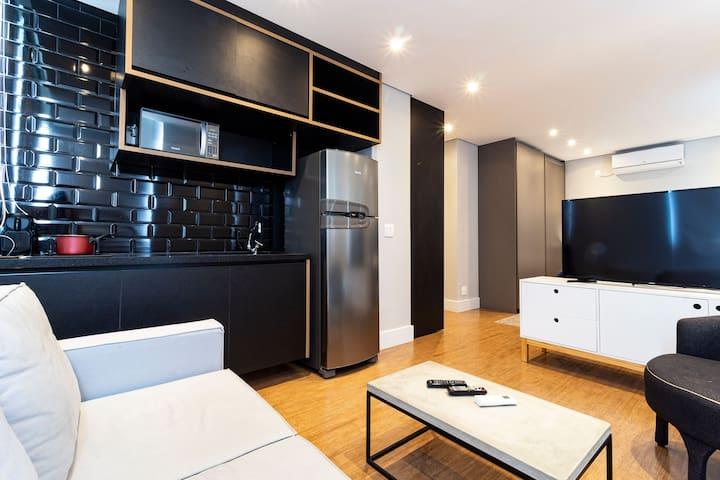 VNFL125 Apartamento charmoso na Vila Olímpia