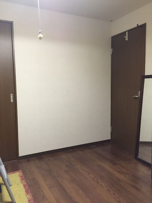 The empty space in the room