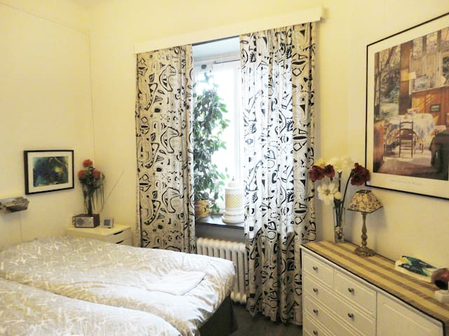 Cozy accommodation in central Stockholm
