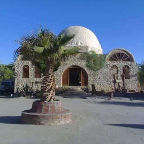 AHMED SAFARI CAMP black and white desert trips
