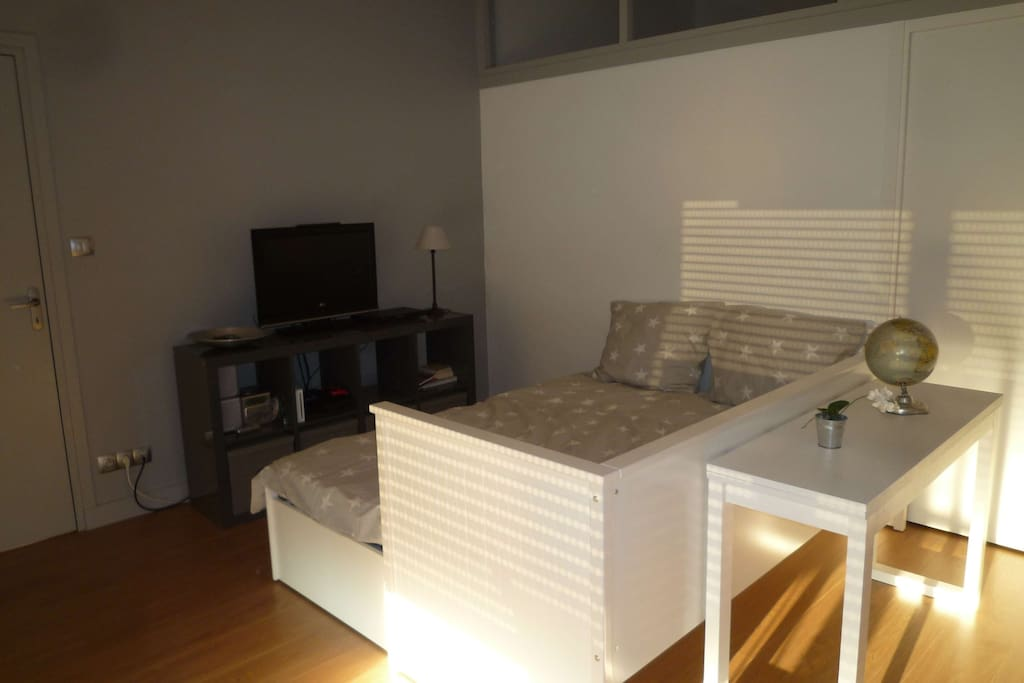 Chambre-salon 1