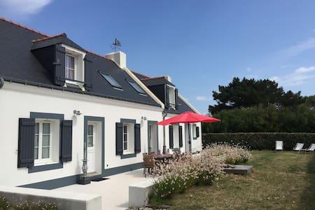 Longère belliloise de charme, entre mer & campagne - Bangor - Haus