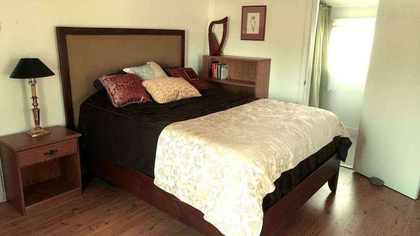 Cozy farmhouse loft suite